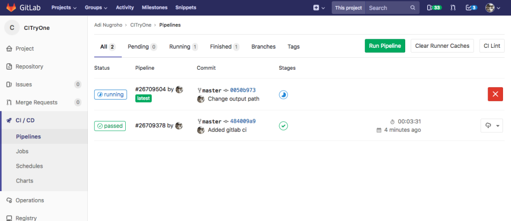 Using Gitlab CI to Build Android Project
